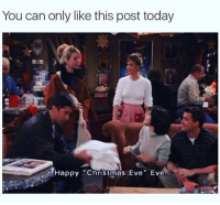 """Memes, Happy, and Time: You can only like this post today  Happy """"Chris tmas Eve"""" Eve It's almost time 🎅🏼 goodgirlwithbadthoughts 💅🏼"""