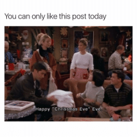 Before it's too late! (@tank.sinatra): You can only like this post today  Happy Christmas Eve Eve Before it's too late! (@tank.sinatra)