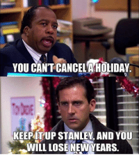 okay we're spicing things up. order today, using link in bio, and you're entered to win a round trip ticket to visit DUNDER MIFFLIN SET with a friend! Order today — last orders accepted at 11:59 pm! you'll still get a free phone case + 20% off!: YOU CANT CANCELAHOLIDAY  KEEPITUP STANLEY. AND YOU  WILL LOSE NEWYEARS. okay we're spicing things up. order today, using link in bio, and you're entered to win a round trip ticket to visit DUNDER MIFFLIN SET with a friend! Order today — last orders accepted at 11:59 pm! you'll still get a free phone case + 20% off!
