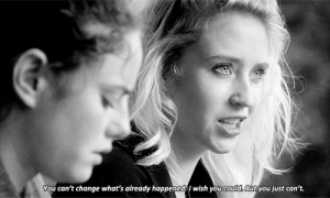 https://iglovequotes.net/: You can't change what's already happened. I wish you could. But you just can't. https://iglovequotes.net/
