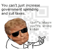 "<p>Trump Memes are a solid investment for the next 4 years, diversify your portfolio! via /r/MemeEconomy <a href=""http://ift.tt/2nm2Pwm"">http://ift.tt/2nm2Pwm</a></p>: You can't just increase  government spending  and cut taxes.  that's where  you're wrong  kiddo <p>Trump Memes are a solid investment for the next 4 years, diversify your portfolio! via /r/MemeEconomy <a href=""http://ift.tt/2nm2Pwm"">http://ift.tt/2nm2Pwm</a></p>"