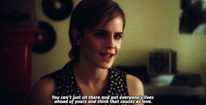 https://iglovequotes.net/: You can't Just sit there and put everyone's lives  ahead of yours and think that counts as love. https://iglovequotes.net/
