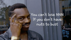 Sunday, You, and Lose: You can't lose NNN  if you don't have  nuts to bust  OPening  Mon  Tue-Thur  त-১al  Sunday Every Pre-T Guy in NNN