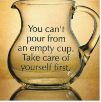 Memes, 🤖, and Take Care: You can't  pour from  an empty cup  Take care of  yourself first. Do you agree? Let me know 👇👇 FTM ThinkMinority @m2jaspreetsingh