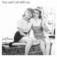Lol, Meme, and Memes: You can't sit With us.  emes And none for Gretchen Wieners. JudyGarland JudyMemes JudyGarlandMemes LanaTurner MeanGirls LindsayLohan TinaFey YouCantSitWithUs Meme Memes Lol Yas Queen Gay GayAF InstaGay GayIcon ZiegfeldGirl GoldenAgeOfHollywood ClassicFilm ClassicHollywood OldHollywood Vintage MGM Ziegfeld ZiegfeldFollies - - Tee-hee, Frances