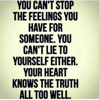 MSG: YOU CAN'T STOP  THE FEELINGS YOU  HAVE FOR  SOMEONE YOU  CAN'T LIE TO  YOURSELF EITHER  YOUR HEART  KNOWS THE TRUTH  ALL TOO WELL. MSG