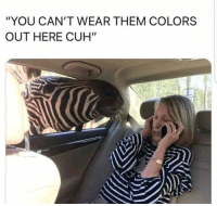 """22 Funniest Pictures You Really Just Need To See For Yourself: """"YOU CAN'T WEAR THEM COLORS  OUT HERE CUH"""" 22 Funniest Pictures You Really Just Need To See For Yourself"""