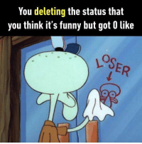 Humorous jokes are for the clever ones. Follow @9gag to learn what humour is. 9gag truth have nofriends: You deleting the Status that  you think it's funny but got 0 like Humorous jokes are for the clever ones. Follow @9gag to learn what humour is. 9gag truth have nofriends