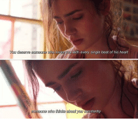 Love, Memes, and Rosie: You deserye somao  ho loves you with every single beat of his heart  eone hothinks about you  stantly Love, Rosie https://t.co/ZQygoXfcqE
