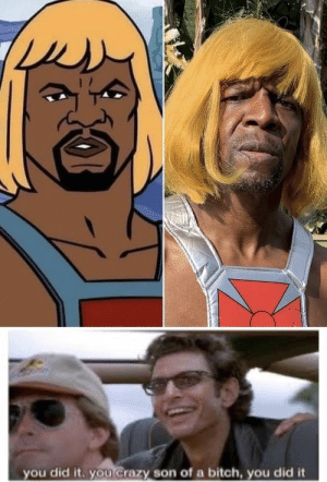 Terry Crews wins Halloween: you did it. you Crazy son of a bitch, you did it Terry Crews wins Halloween