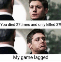 Black Lives Matter, Halloween, and Memes: You died 27times and only killed 3?  My game lagged So True. 😂🎮 DaGamerPage Follow other page👉🏼@ministryofgaming Partner: @organictrolling ➖➖➖➖➖ 🎮 Credit: unknown 🎮 Double Tap It. 🙏🏻 🎮 Tag A Friend. 👥 ➖➖➖➖➖ 🎮 Follow My Other Accounts 👉🏼@dagamerpage👈🏼 👉🏼@ministryofgaming👈🏼 ✖️ ➖➖➖➖➖ 🔺Hashtags. (ignore plz) videogames games gamer Callofduty blackops3 bo3 cod ps4 playstation4 gaming halloween instagamer playinggames online photooftheday onlinegaming videogameaddict instagame instagood muscles gamerguy gamergirl gamin video game igaddict tagafriend relationshipgoals blacklivesmatter