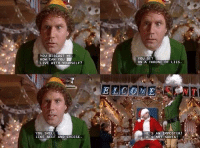 Beef, Elf, and Memes: YOU DISGUST M  CAN You  LIVE WIT  YOURSELF?  YOU SMELL  LIKE BEEF AND CHEESE  YOU SIT  ON A THRONE  LIES  COME  HE S AN IMPOSTER  HE's NOT SANTA RT @BestMovieLine: Elf