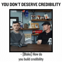 Faking to you make it only tricks on winning players .. here is a way better strategy .. shut your fucking mouth until you do something ... now don't confuse that with documenting your journey, but acting like your something you're not, never works! authentic authenticity authenticonly: YOU DON'T DESERVE CREDIBILITY  @GARYVEE  3  Subscribe  49  [Blake How do  you build credibility Faking to you make it only tricks on winning players .. here is a way better strategy .. shut your fucking mouth until you do something ... now don't confuse that with documenting your journey, but acting like your something you're not, never works! authentic authenticity authenticonly