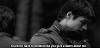 http://iglovequotes.net/: You don't have to pretend like you give a damn about me. http://iglovequotes.net/