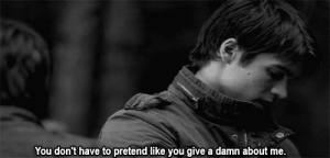 https://iglovequotes.net/: You don't have to pretend like you give a damn about me. https://iglovequotes.net/