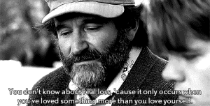 https://iglovequotes.net/: You don't know about real loss cause it only occurswhen  you've loved something.more than you love yourself. https://iglovequotes.net/