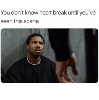 Break, Heart, and Dank Memes: You don't know heart break until you've  seen this scene 😢😢😭