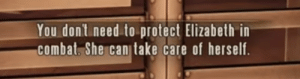 The best thing about Bioshock Infinite: You don't need to protect Elizabethin  combat. She canitake care of herself The best thing about Bioshock Infinite