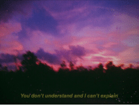 You, Explain, and  I Cant: You' don't understand and I can't explain