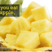 Apple, Memes, and Free: you eat  apple,  Company I'm not even mad they eat me back. 🍍 pineapple nom yum fruit ➡📱Download our free App: [LINK IN BIO]