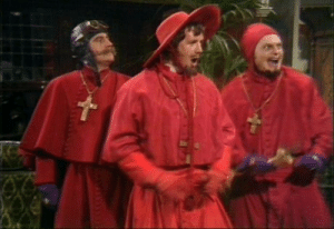 YOU FOOL! YOU EXPECTED A CORONAVIRUS MEME BUT IT WAS THE SPANISH INQUISITION!: YOU FOOL! YOU EXPECTED A CORONAVIRUS MEME BUT IT WAS THE SPANISH INQUISITION!