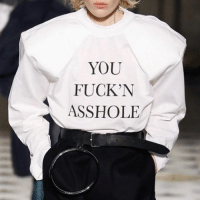 Life, Girl Memes, and Asshole: YOU  FUCKN  ASSHOLE NYFW designers being inspired by your life.