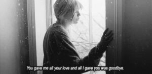 https://iglovequotes.net/: You gave me all your love and all I gave you was goodbye. https://iglovequotes.net/