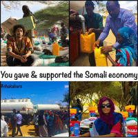 "Books, Crazy, and Food: you gave & supported the Somali economy  We are always learning... Filling an airplane full of food that you can source locally, is not an efficient way to use resources. It will be harmful to the local economy, crashing the prices of the foods in the local area. Harming local businesses & this will cause long term damage. We don't want to keep the people dependent on aid, we want to co create & help to be part of the solution, not part of the problem. In the long term the people need trade not aid. For now there are many people walking to Mogadishu from rural areas, this is putting a strain on the capital city, as food is in a higher demand in a concentrated area. There are 1.2 million people in camps now in Mogadishu. If we can support the small local businesses & local trade then we will actually be helping. Colonial ideas are those where we bring everything from outside, making the people dependent on outside help indefinitely. It organises the structure of a country not to support itself, but to support the interests of donors-donor countries. At the same time, making poverty & suffering a business for the donors. This is not empowering & not something that I want to be involved in. The people in Somalia know what is needed, but they have been kept out of global trade, aren't allowed infancy business protection, have crazy tariffs imposed, & don't get sufficient subsidies, so that they can't compete at the global marketplace, with the already established businesses. Books to read ""Kicking away the ladder"" by Ha-Joon Chang, ""Dead aid"" by Dambisa Moyo. Also watch ""Poverty inc"" We are still sending the Turkish Airlines flight but we are filling it with 60 tonnes of special food for malnourished babies, all the food we are giving this week, (another 60 tonnes) is sourced locally, this employs local Somali people. We are not an NGO, we don't want to make this a business. We are trying to be as useful as possible. Also we will always be honest, we were slightly naive, but we corrected it before we cause damage. chakabars lovearmyforsomalia"