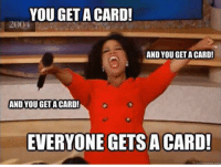Soccer, You, and This: YOU GET A CARD!  AND YOU GET A CARD!  AND YOU GET A CARD!  EVERYONE GETS A CARD! This referee https://t.co/Dg0A2C65Ik