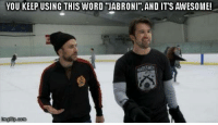 "Jabroni, Memes, and Word: YOU KEEP USING THIS WORD JABRONI"", AND ITS AWESOME!  im com"