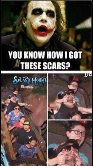 220+ All Time Best Funny Pictures: YOU KNOW HOW IGOT  THESE SCARS?  SPLABH MOUNT  Disneyland 220+ All Time Best Funny Pictures