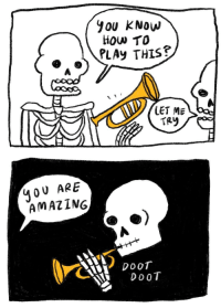 Spooky wholesomeness: YOU KNow  How TO  PLAy THIs?  LET ME  TAY  40 U ARE  AMAZING  CXY DOOT  DoOT Spooky wholesomeness