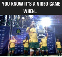 It's that time of year again 🇦🇺🇳🇿 bledisloecup rugby wallabies allblacks: YOU KNOW IT'S A VIDEO GAME  WHEN  RUGBY  MEMES  gue It's that time of year again 🇦🇺🇳🇿 bledisloecup rugby wallabies allblacks