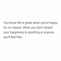 This 👌🏻👌🏻 . @DOYOUEVEN 👈🏼 FREE SHIPPING ON ALL orders 🚚🌍 just tap the link in our BIO ✔️: You know life is great when you're happy  for no reason. When you don't attach  your happiness to anything or anyone,  you'll feel free. This 👌🏻👌🏻 . @DOYOUEVEN 👈🏼 FREE SHIPPING ON ALL orders 🚚🌍 just tap the link in our BIO ✔️