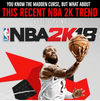 Could Kyrie Irving's NBA 2K cover appearance be a sign of what's to come?: YOU KNOW THE MADDEN CURSE, BUT WHAT ABOUT  THIS RECENT NBA 2K TREND  NBA2K4S  NBA Could Kyrie Irving's NBA 2K cover appearance be a sign of what's to come?