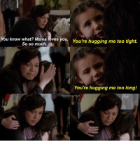 "Marriage, Memes, and Oh My God: You know what? Ma  loves you  too tight.  You're hugging me So so much.  You're hugging me too long!  Facts forgreys HERE ARE MY THOUGHTS ABOUT TONIGHTS EPISODE OF GREYS ANATOMY. CONTAINS SPOILERS. • • • • • • HOLY CRAPPPPPPPPPPPP Okay, to start off Jessica Brooke Capshaw was so flipping adorable (as usual lol)!!!!! Just wanted to get that out there!! I'm so happy to see Alex back in his (navy) blues operating again!! I just really want Meredith to get back in too😣 The mom of the boy shouldn't have yelled like that at Jo. How was she to know that the estranged husband was abusive to her and her son?! She brought him into the room thinking that he was still included in their family. That wasn't her fault and I hated watching her beat herself up for it. I could see that that man's presence really upset Jo though. I could see that it reminded her of her own abusive and unhappy (for lack of a better word) marriage. It killed me seeing her like that. If the father had not donated his kidney, I would have liked to have seen the kidney go to the boy and not back to the mom. It would have made the most sense, and I'm sure that that's what the mom would have wanted too. HAHAH CROSS WILL FOREVER BE MY FAV INTERN LMAO THAT GUYS HILARIOUS Arizona and Eliza's conversations throughout the entire episode were soooooo freakin adorable!!! Outside when Arizona and Eliza were talking, what Arizona was saying about not wanted to pretend to hate her and not wanting to have to sneak around anymore reminded me of an old Slexie scene where Lexie tells Mark that she's ""dating Anne frank"" and that she ""doesn't want to sneak around anymore and she wants to tell the Germans to kiss her ass"". 😰 slexiefeels AND THEN AND THEN AND THEN OH MY GOD OH MY GOD OH MY GOD 👩🏼‍⚕️👩🏻‍⚕️👩‍❤️‍👩👩‍❤️‍💋‍👩 THE KISS IT WAS SO PASSIONATE I CAN ALREADY TELL THAT THEYRE GONNA BE SUCH A GREAT COUPLE OMG I CANT EVEN I SHIP ARILIZA SO HARD AND I HOPE THEY RISE!!!!!! I'm just nervous about when Jackson, Richard and Maggie find out that they'll treat her the way that everyone treated April last episode. IM STILL STICKING WITH MY PREDICTION FROM LAST WEEK THAT RICHARD WILL GET TO KEEP HIS JOB AS THE RESIDENCY DIRECTOR AND THAT ELIZA WILL BECOME THE CHIEF OF ORTHO!! I'm calling it now!!! – those were my thoughts on the ep!"