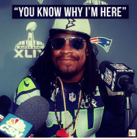 "@beastmode's response to every question at his second Media Day press conference: ""YOU KNOW WHY I'M HERE  SUPER BOWL  LIT @beastmode's response to every question at his second Media Day press conference"
