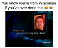 https://t.co/ETleHfTdyD: You know you're from Wisconsin  if you've ever done this  blindsey 01  ..i cant control my horny level  MSNBC https://t.co/ETleHfTdyD