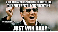 YOU KNOWALISSMILING IN JUST LIKE  THIS WITHATFISTINTHEAIR SAYING  @CHEFBOYARLEEZY  JUST WIN BABY Raiders!! picoftheday bestoftheday raiders nfl quotes meme holidays sobriety Christmas igers addiction muscle team couple fitnessaddict sweat tatted tattoo weightlossstory diet natural fatloss nutrition