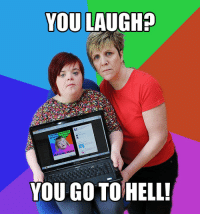 "YOU LAUGH?  daaat  YOU GO TO HELL! <p>I Can Count to Potato | a28.jpg <a href=""http://bit.ly/I6V6qK"">http://bit.ly/I6V6qK</a></p>"