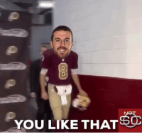 Alex Smith informs Kirk Cousins he is now the Redskins QB: https://t.co/ONcJrxltvS: YOU LIKE THAT Alex Smith informs Kirk Cousins he is now the Redskins QB: https://t.co/ONcJrxltvS