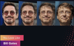 I guess that makes sense with the discription: You Look Like  Bill Gates I guess that makes sense with the discription