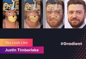 I see it now: You Look Like  #Gradient  Justin Timberlake  1 I see it now