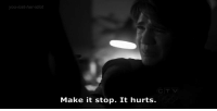 http://iglovequotes.net/: you-lost-her-Idlot  CTV  Make it stop. It hurts. http://iglovequotes.net/