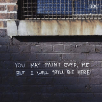 Dank, 🤖, and Porter: YOU MAY PAINT OVER ME  BUT I WILL STILL BE HERE //Porter