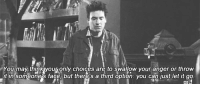 """Memes, Let It Go, and 🤖: You may thinkjyouj only choices are to swallow your anger or throw  it in somtone's face, but therei's a third option: you can just let it g9 """"You can just let it go."""" #HIMYM https://t.co/tatu8ElRyk"""