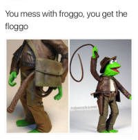 flog me up fam 😍 (@hollywoodsquares): You mess with froggo, you get the  floggo  hollywoodsquares flog me up fam 😍 (@hollywoodsquares)