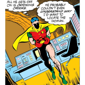 You might be on to something there, Robin.: You might be on to something there, Robin.