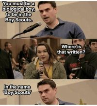 Ben Shapiro 2020?🇺🇸 DonaldTrump America Trump protest usa Trump2020 liberals democrats Republicans conservatives buildthewall fakenews cnn like maga president obama immigrants follow politics prolife funny savage instagram presidenttrump lol Partners --------------------- @too_savage_for_democrats🐍 @raised_right_🐘 @conservativemovement🎯 @millennial_republicans🇺🇸 @ny_conservative1776😎 @floridaconservatives🌴: You must be a  biological boy,  to be in the  Boy Scouts.  In the name  Boy Scouts?  Where is  that written? Ben Shapiro 2020?🇺🇸 DonaldTrump America Trump protest usa Trump2020 liberals democrats Republicans conservatives buildthewall fakenews cnn like maga president obama immigrants follow politics prolife funny savage instagram presidenttrump lol Partners --------------------- @too_savage_for_democrats🐍 @raised_right_🐘 @conservativemovement🎯 @millennial_republicans🇺🇸 @ny_conservative1776😎 @floridaconservatives🌴