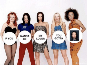 Reddit, Keanu Reeves, and You: YOU  MY  WANNA  GOTTA  IF YOU  LOVER  BE  ebune Gotta be Keanu Reeves